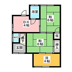 [一戸建] 愛知県岩倉市大地新町3丁目 の賃貸【愛知県 / 岩倉市】の間取り