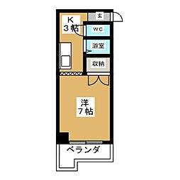 天満小塚ビル[2階]の間取り