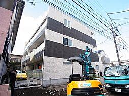 神奈川県相模原市南区東林間2の賃貸マンションの外観