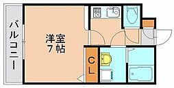 エンクレスト博多[9階]の間取り