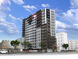 THE SQUARE Platinum Residence[13階]の外観