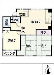 YSH[4階]の間取り
