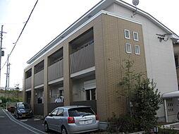大阪府高槻市東五百住町2丁目の賃貸アパートの外観