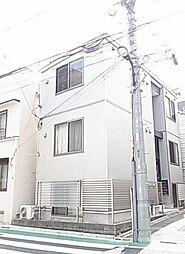 東京都新宿区東五軒町の賃貸アパートの外観