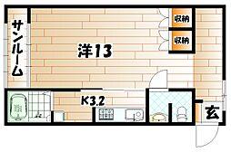 プレッソリーバI[1階]の間取り