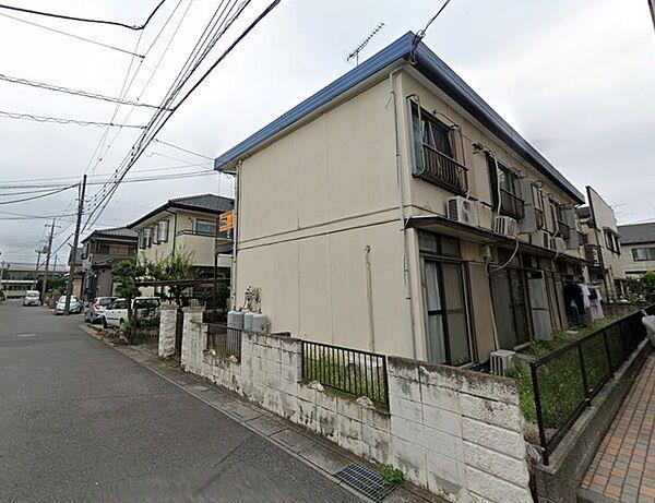 千寿コーポ[1階]の外観