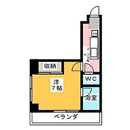 CITY M−56[5階]の間取り