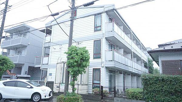 埼玉県熊谷市河原町2丁目の賃貸アパートの外観