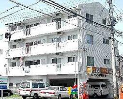 福岡県久留米市松ヶ枝町の賃貸マンションの外観