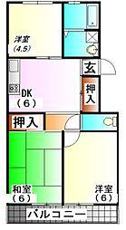 ファーシルマンション[5階]の間取り