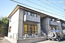 福岡県北九州市八幡西区町上津役東2丁目の賃貸アパートの外観