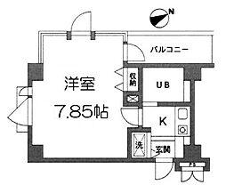 コパーズアプト鶴ヶ峰[3階]の間取り