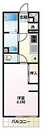 リブリ・霞ヶ関[1階]の間取り