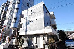埼玉県吉川市木売2-の賃貸マンションの外観