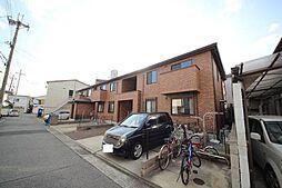 兵庫県尼崎市水堂町2丁目の賃貸アパートの外観