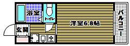 MATSUKAZE[2階]の間取り