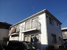 東京都小平市小川東町の賃貸アパートの外観