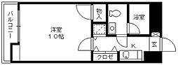 ローズガーデン[11階]の間取り
