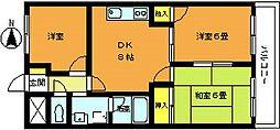 埼玉県志木市本町5丁目の賃貸マンションの間取り