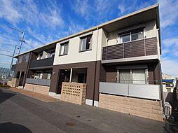 大阪府堺市東区日置荘西町3丁の賃貸アパートの外観