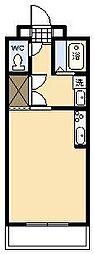 ベルハイムエルステ[202号室]の間取り