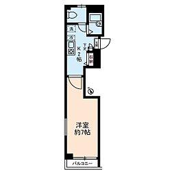 コスモピア[2階]の間取り