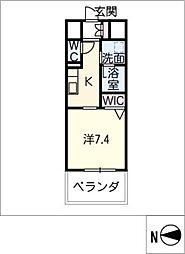 仮)東区泉三丁目計画[9階]の間取り