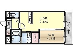 (仮称)高槻市城北町一丁目新築マンション[0306号室]の間取り