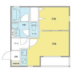 仮)中村本町マンション[3階]の間取り