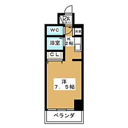IZM36[5階]の間取り