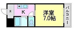 アシスト・スクウェア1[1階]の間取り