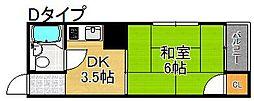 プレアール住之江公園IV[3階]の間取り