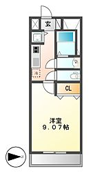 プレストンズ新栄[6階]の間取り
