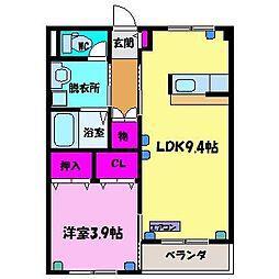 COCOHOUSE[1階]の間取り