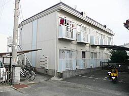 ハイツ矢田[2階]の外観