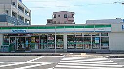 コンビニエンスストアファミリーマート六会日大前店まで362m