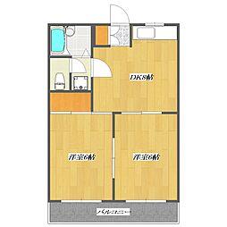 New Residence[103号室]の間取り