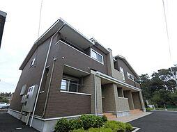 千葉県佐倉市江原の賃貸アパートの外観