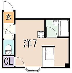 リーヴハウス[4階]の間取り