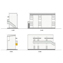KAHALE尾頭橋[102号室]の外観
