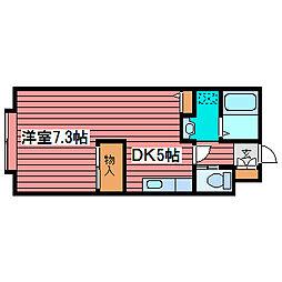レステ月寒[1階]の間取り