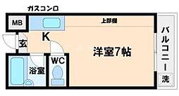 小野原ショッピングセンター[3階]の間取り
