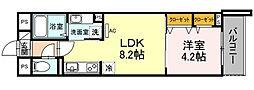 仮)D-room川崎[2階]の間取り