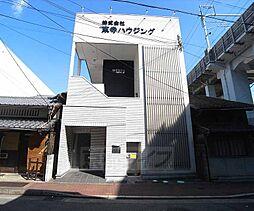 京都府京都市南区大宮通八条上る大黒町の賃貸アパートの外観