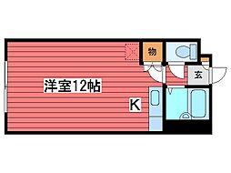 メゾン23[4階]の間取り