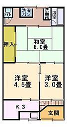 [テラスハウス] 大阪府門真市柳町 の賃貸【/】の間取り