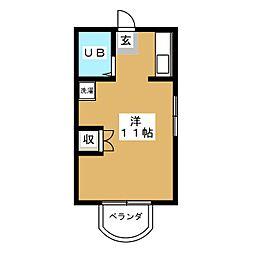オーターミル[2階]の間取り