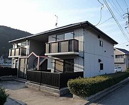 広島県広島市安佐北区小河原町の賃貸アパートの外観