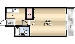 さくらマンション2[4階]の間取り