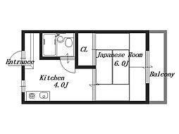 シノマンション[2階]の間取り